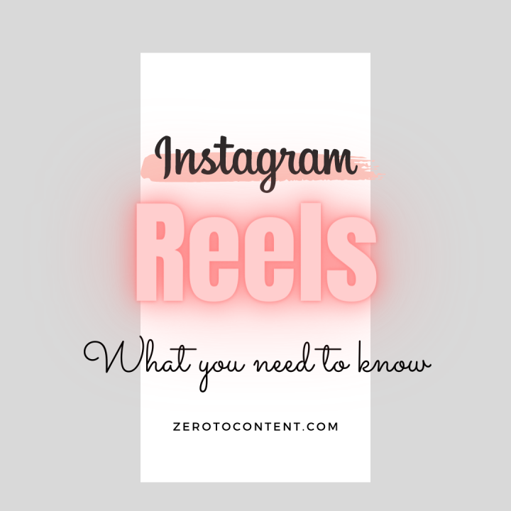 INSTAGRAM REELS – What you need to know (For Entrepreneurs & Bloggers)